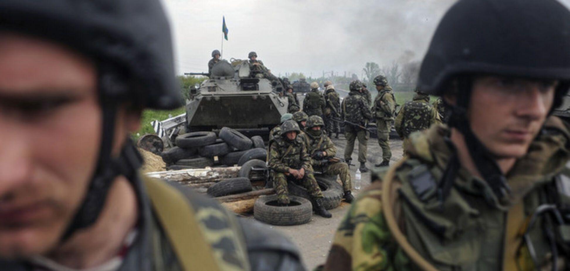 На Харьковщине напали на палаточный город бойцов АТО