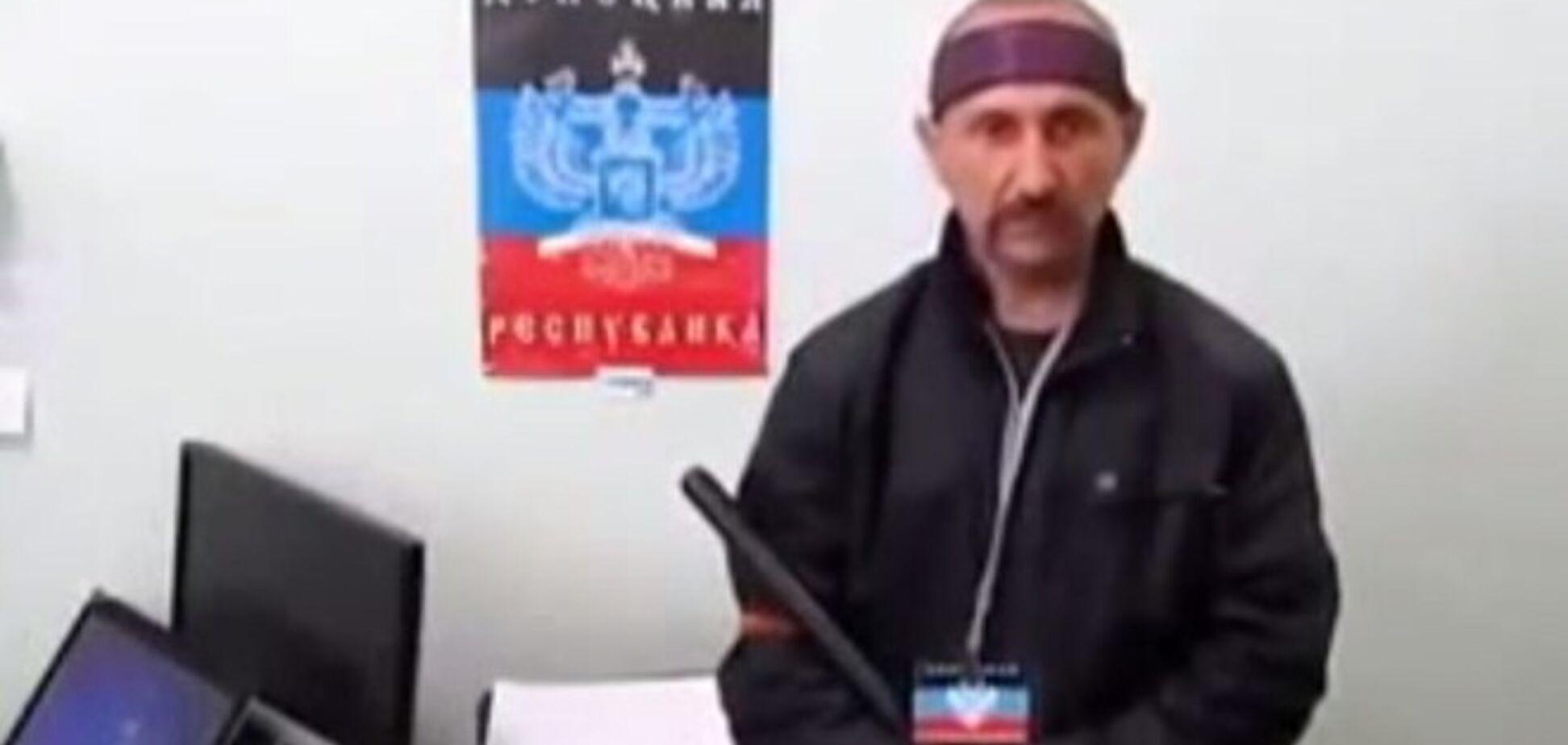 Бойовик 'Бродяга' звернувся з погрозами до патріотів України