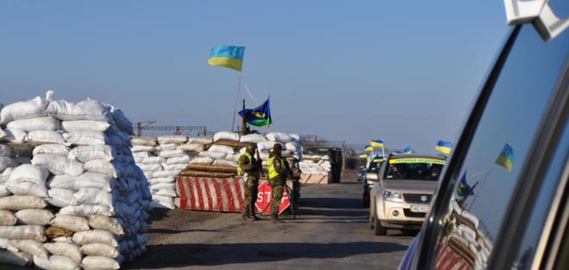 Вдоль границы Харьковской области соорудили 36 блокпостов