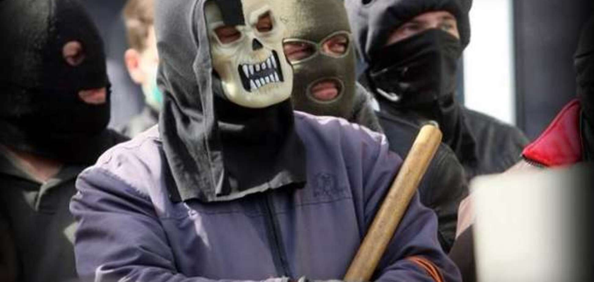 'Горловские' террористы и люди 'Стрелка' решили выяснить отношения на 'стрелке'