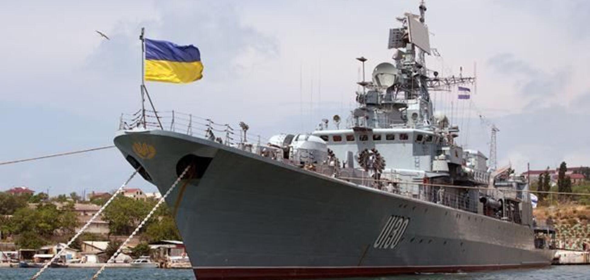 РФ передасть Україні ще п'ять кораблів з анексованого Криму