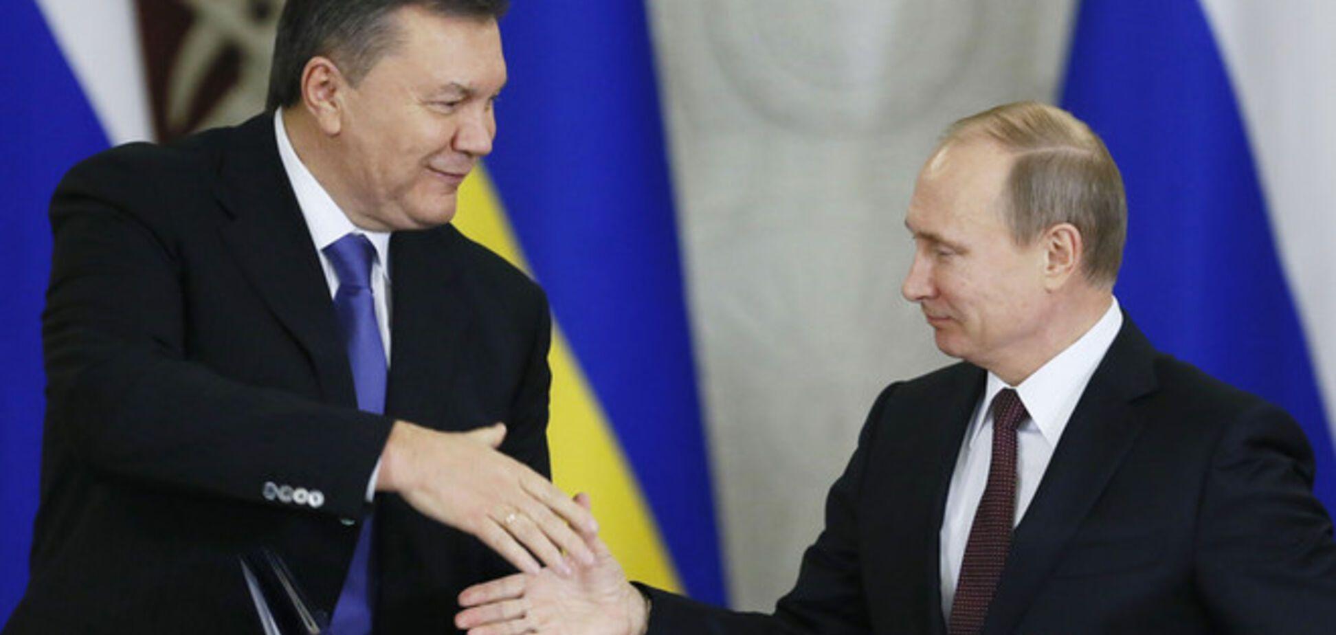 Путин напомнил Украине о легитимном президенте Януковиче