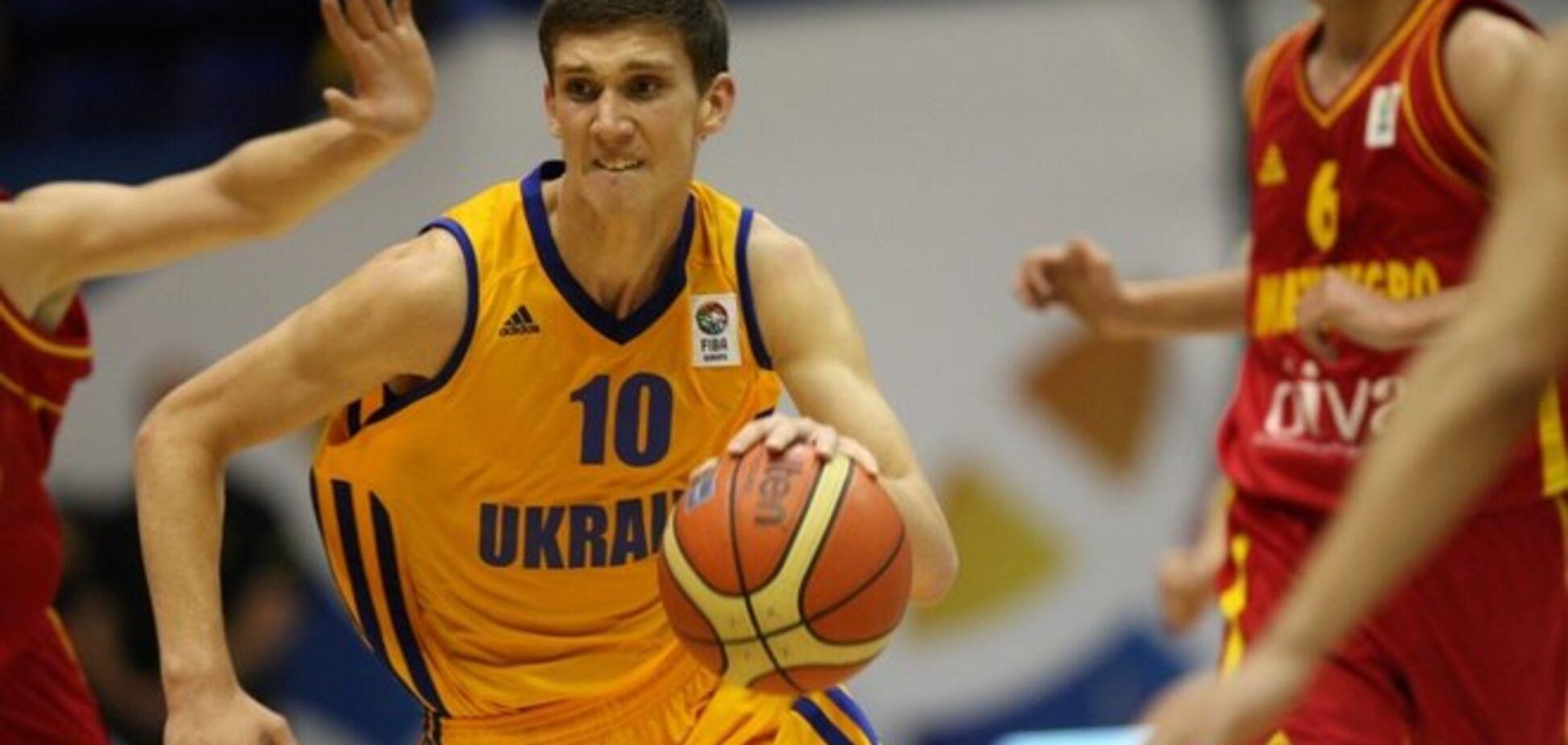 Лучший молодой украинский баскетболист продолжит карьеру в США