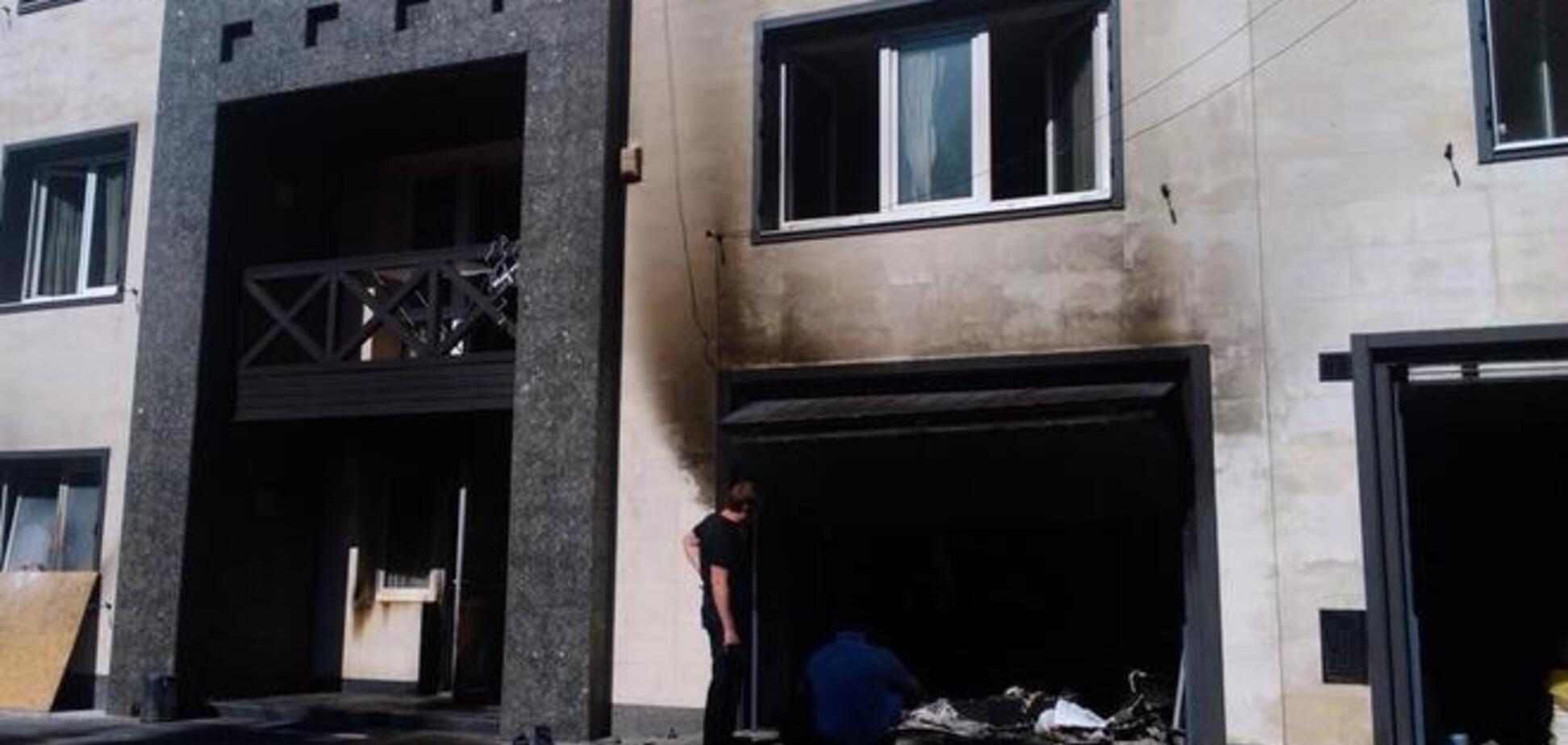 Дом Царева забросали 'коктейлями Молотова' и сожгли