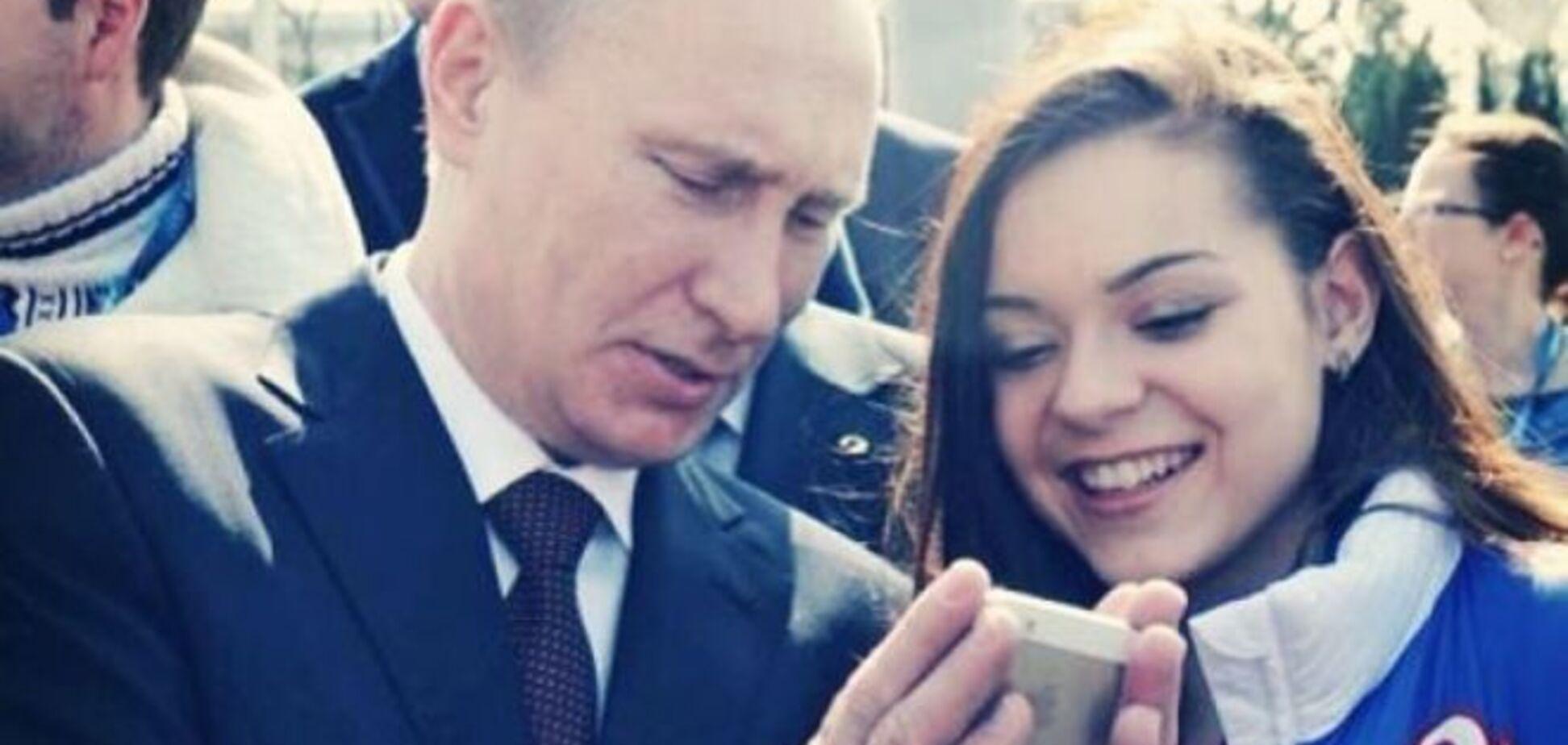 17-летняя подружка Путина покрасовалась на кинопремьере