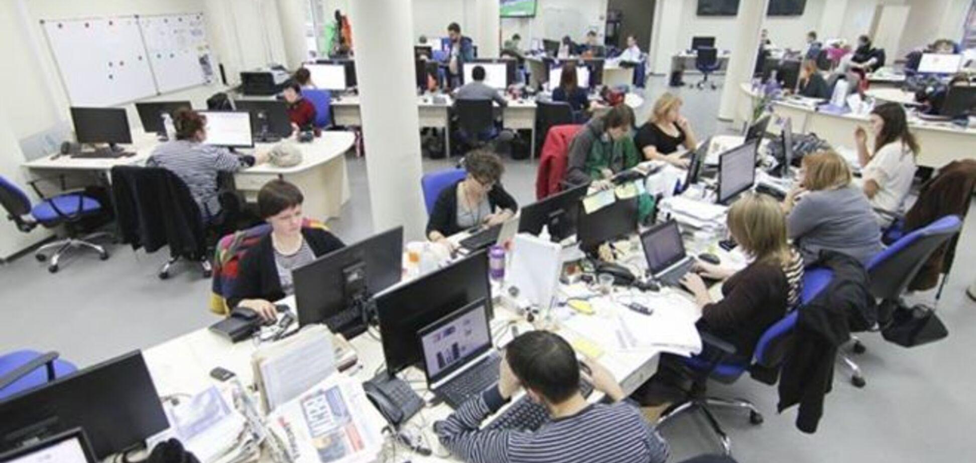 В кабинете главреда 'Вестей' нашли 1,5 млн грн