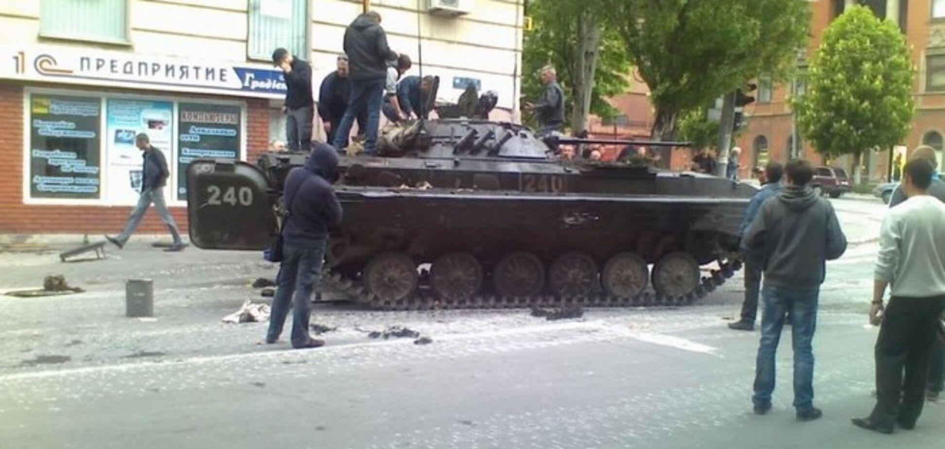 Террористы в Луганской области отбили у украинской армии три БМП