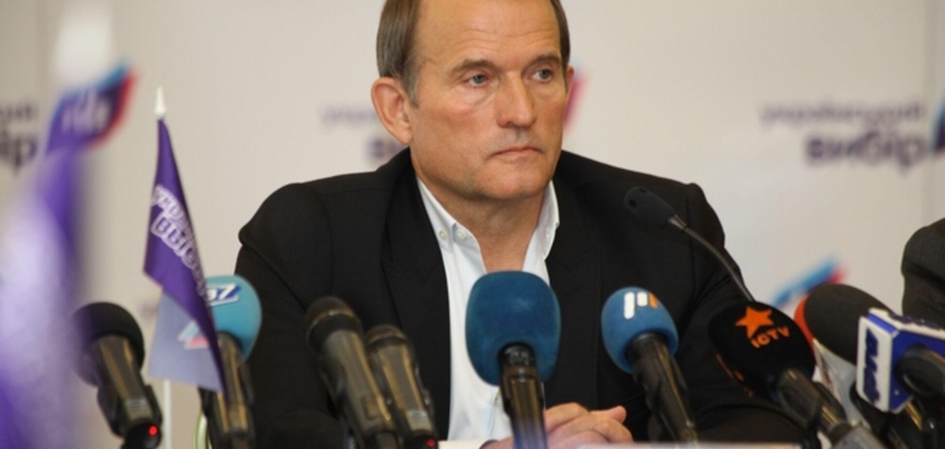 У Медведчука заперечують причетність до першотравневої демонстрації в Криму