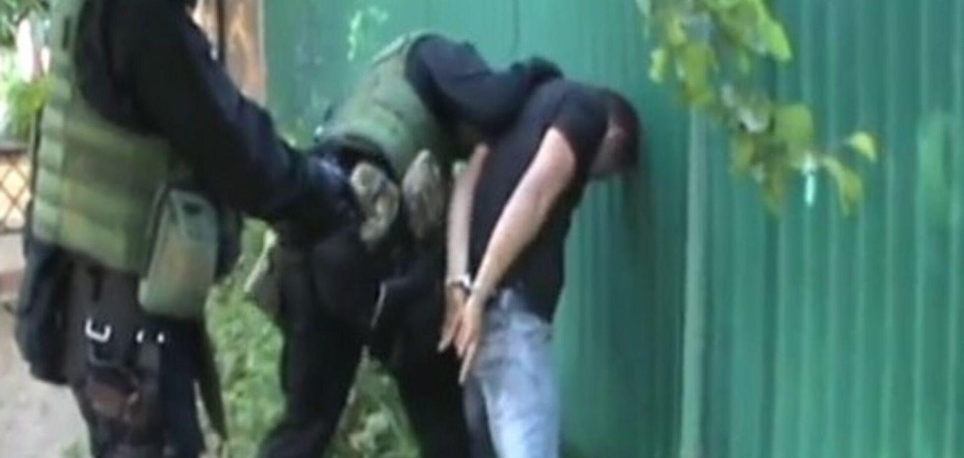 СБУ затримала організатора відправки терористів на схід України. Відеофакт