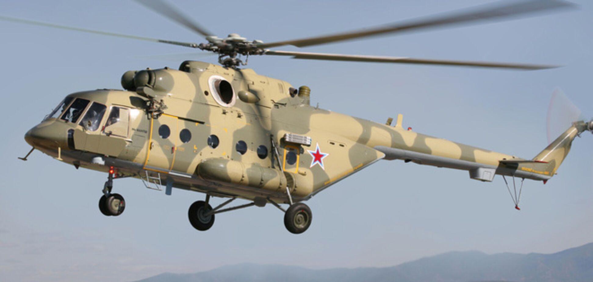 Российский Ми-8 нарушил воздушное пространство Украины