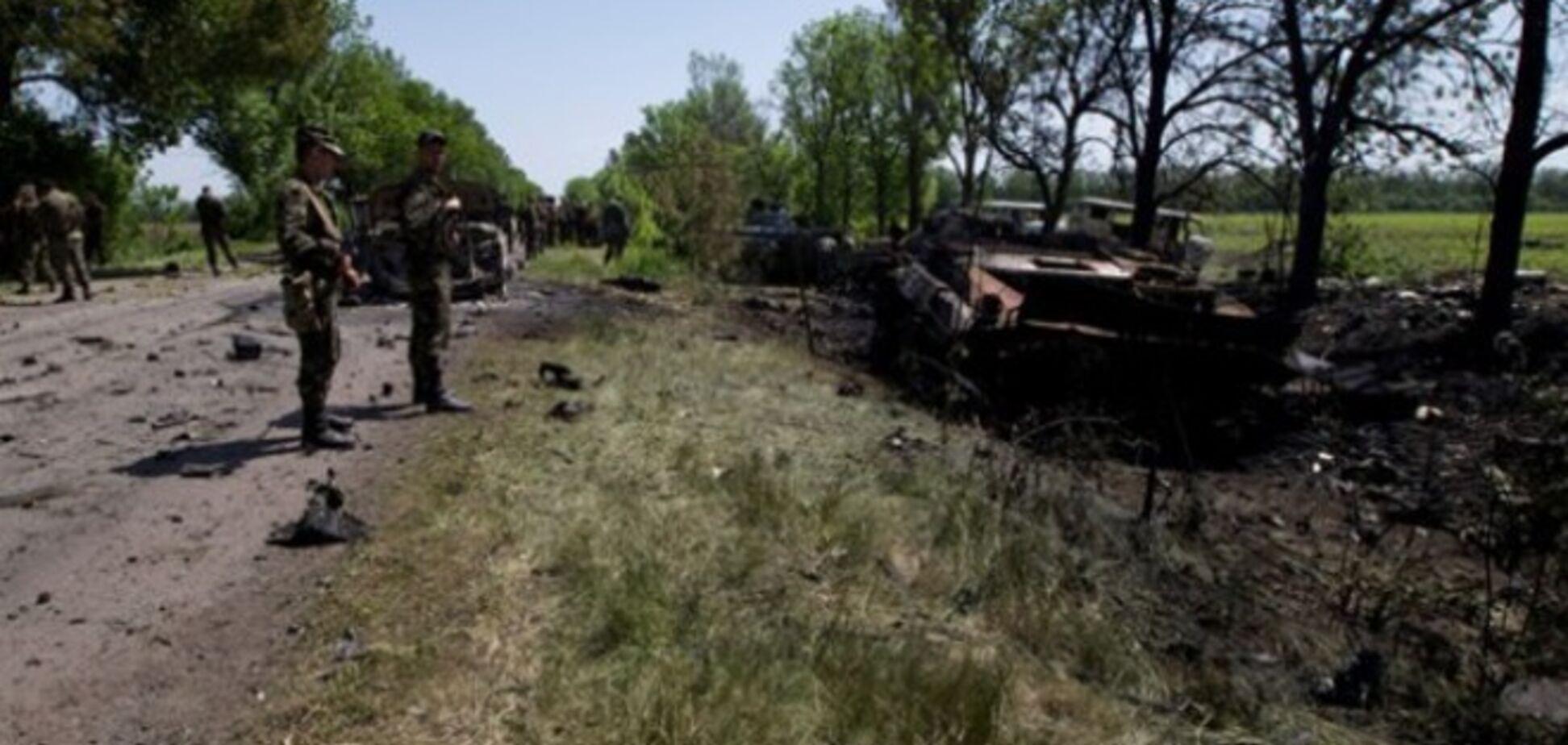 Террористы пытались похитить раненых под Волновахой военных
