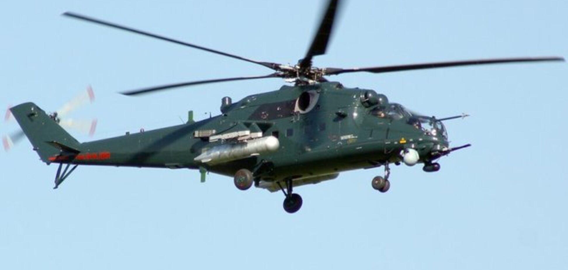 Вертолеты РФ пытались пересечь украинскую границу: их 'встретили' зенитками