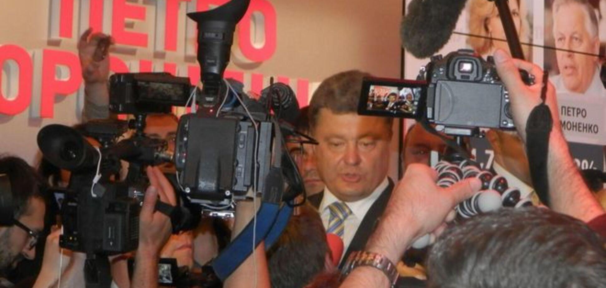 Бекстейдж штаба Порошенко: конфеты от 'Roshen' и тьма народу