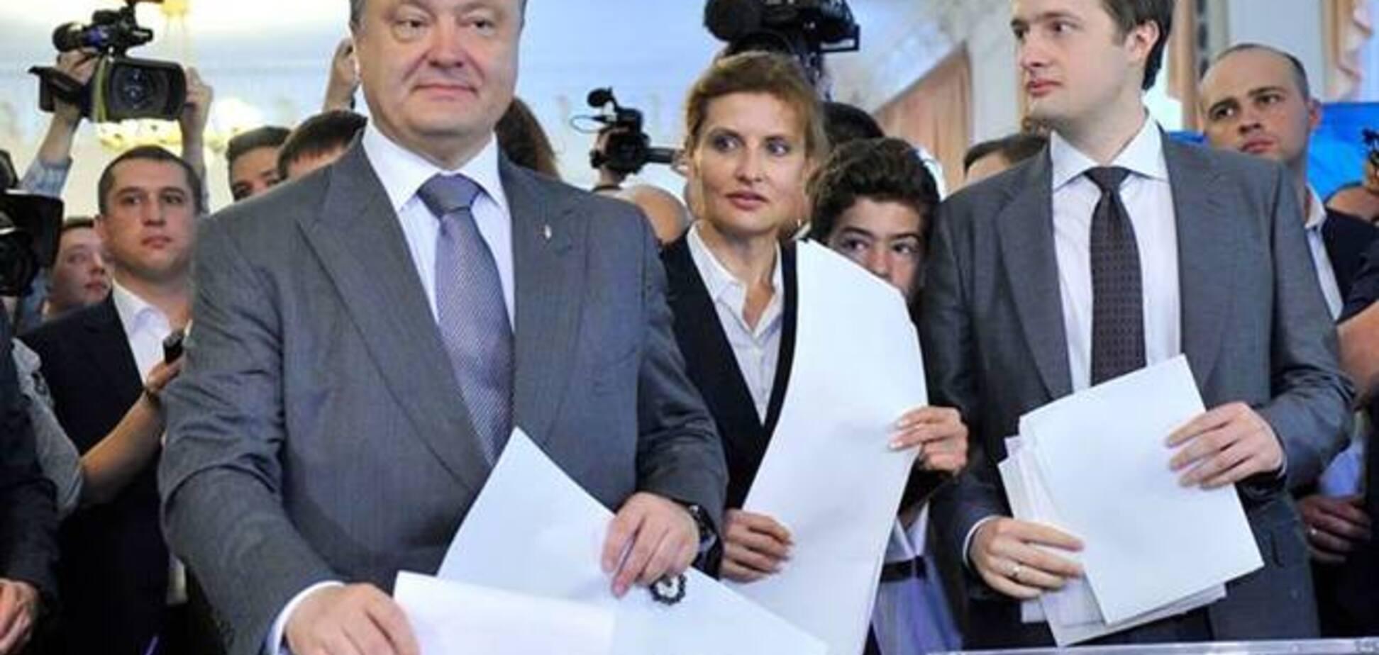 Кума Порошенко 'слила' СМИ тайну его семьи