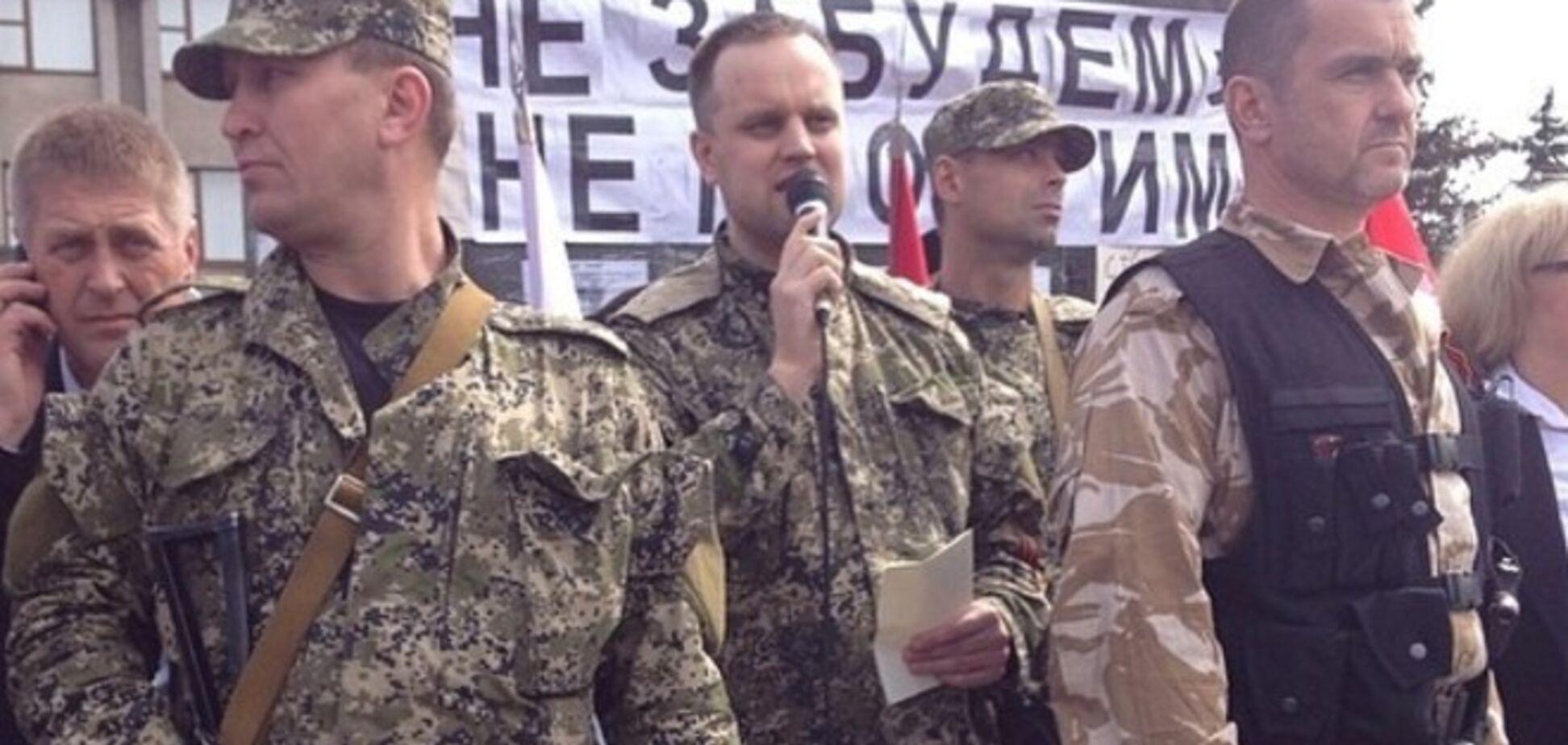 Главный донецкий террорист Губарев заикнулся о переговорах с Порошенко на своих условиях