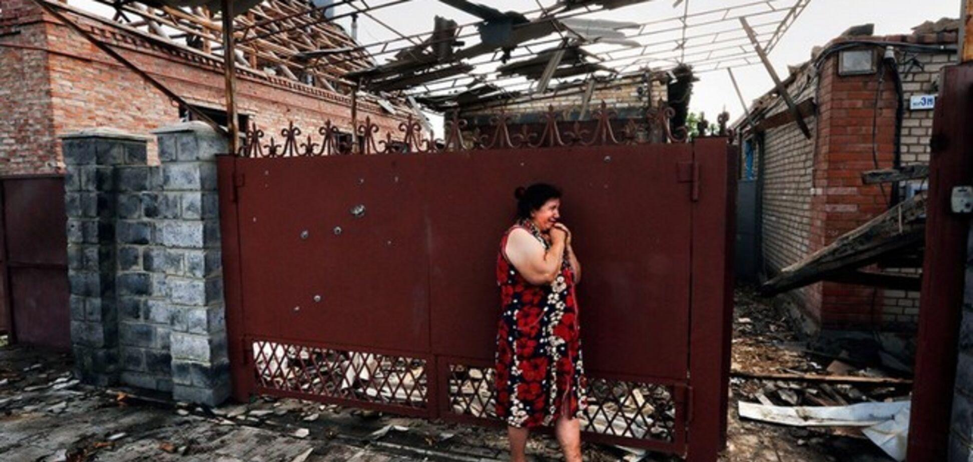 В Славянске идет перестрелка: снаряды летят в жилые районы