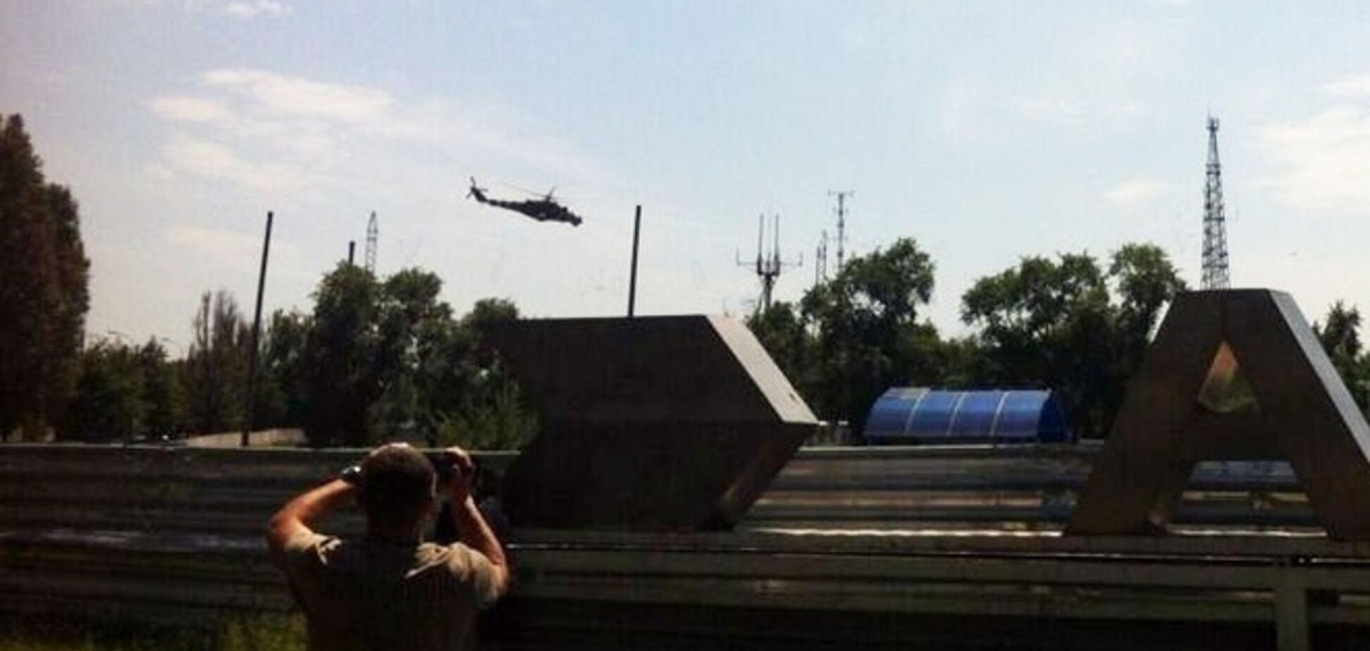 В Донецке возобновилась АТО. Террористы захватили здание ГосЧС