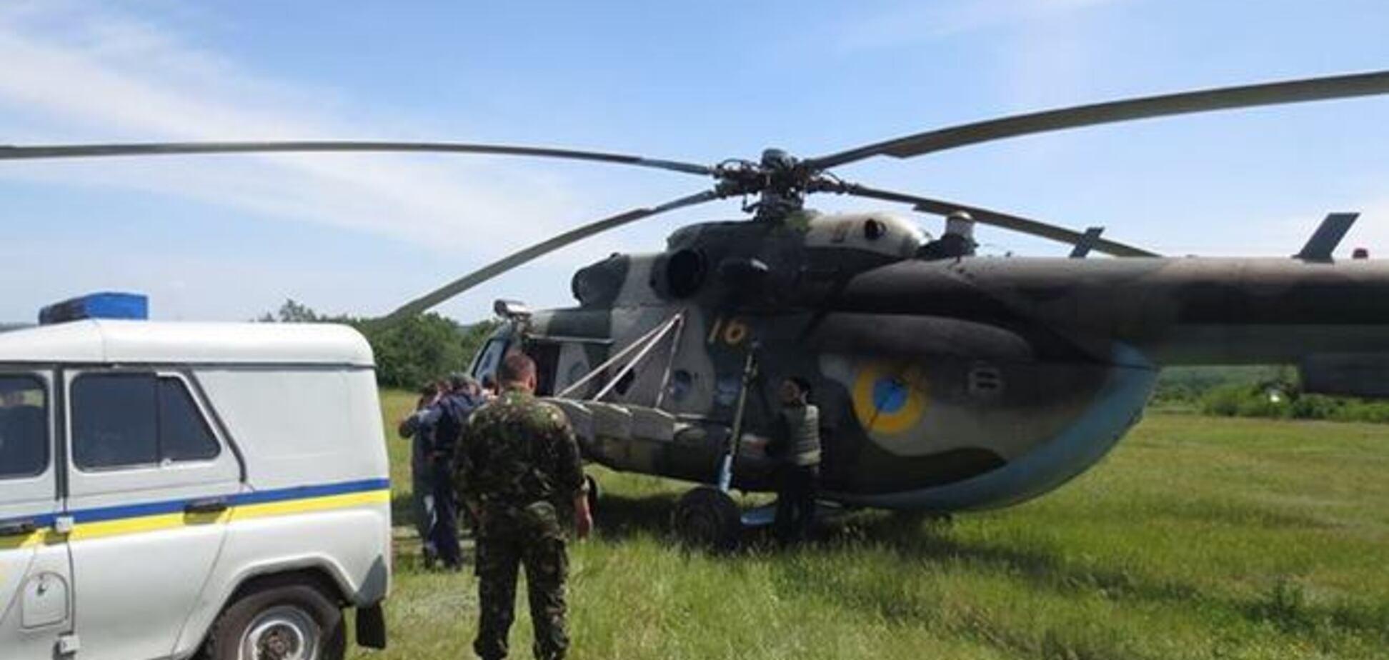 Под Славянском террористы выследили и сбили украинский вертолет, экипаж погиб - журналист
