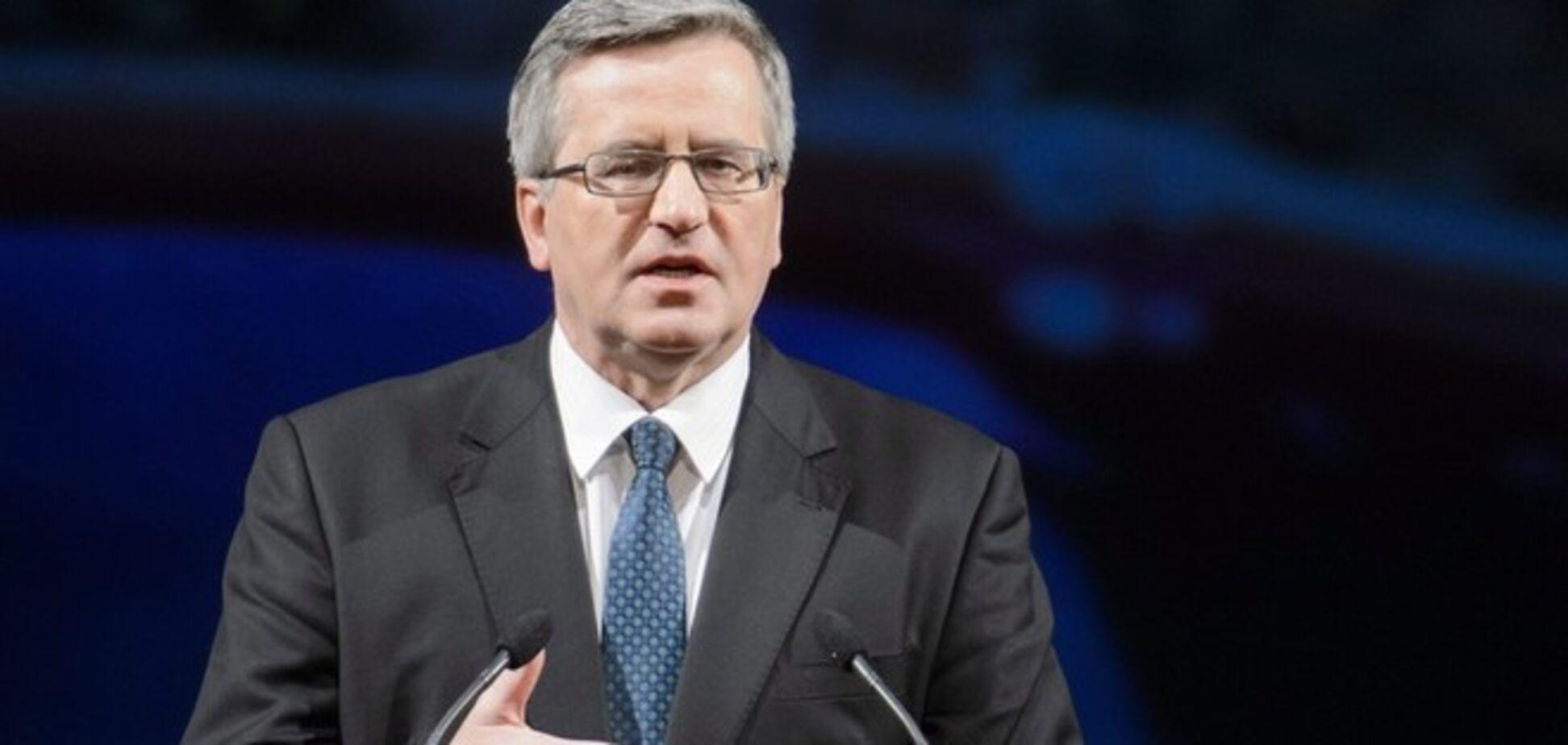 Глава Польши допускает, что РФ хочет сорвать выборы в Украине