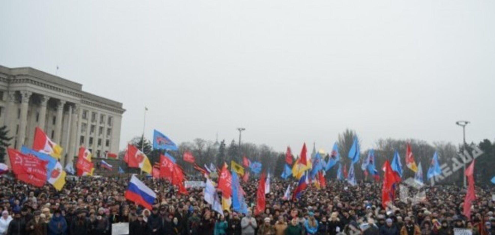 Одеські сепаратисти проривалися в Будинок профспілок 'подивитися на сучасну' Катинь '