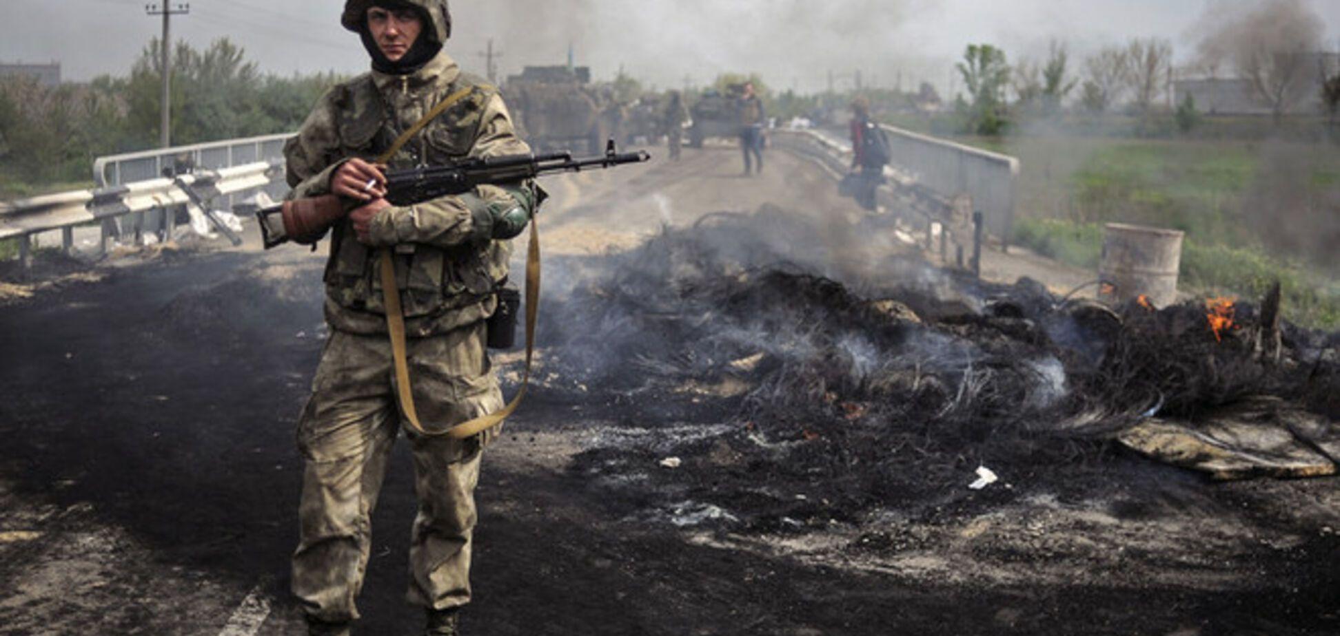 Под Славянском террористы убили двоих военных, прикрываясь женщинами и детьми