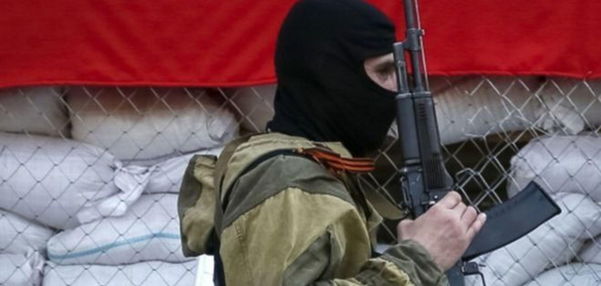 В Славянске террористы заминировали путепровод