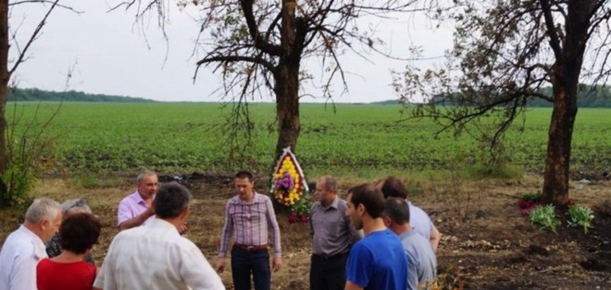 На месте гибели бойцов под Волновахой установят памятник