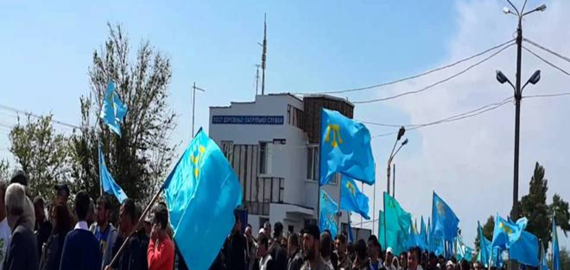 Поддержавших Джемилева крымчан оштрафовали на 10 тыс. рублей