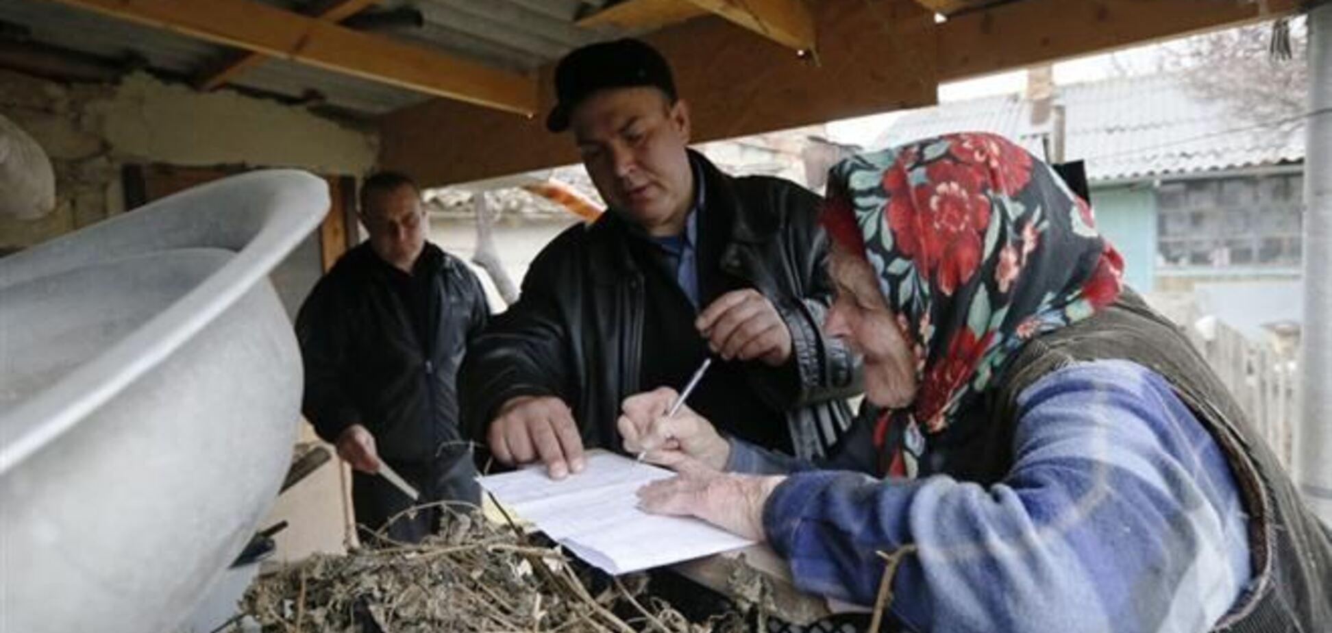 СМИ: присоединение к РФ на 'референдуме' поддержали 15% крымчан