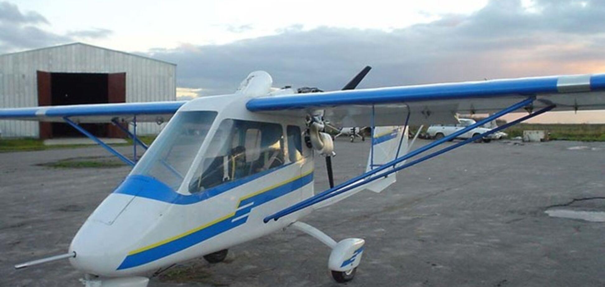 На Запорожье разбился самолет, погиб пилот