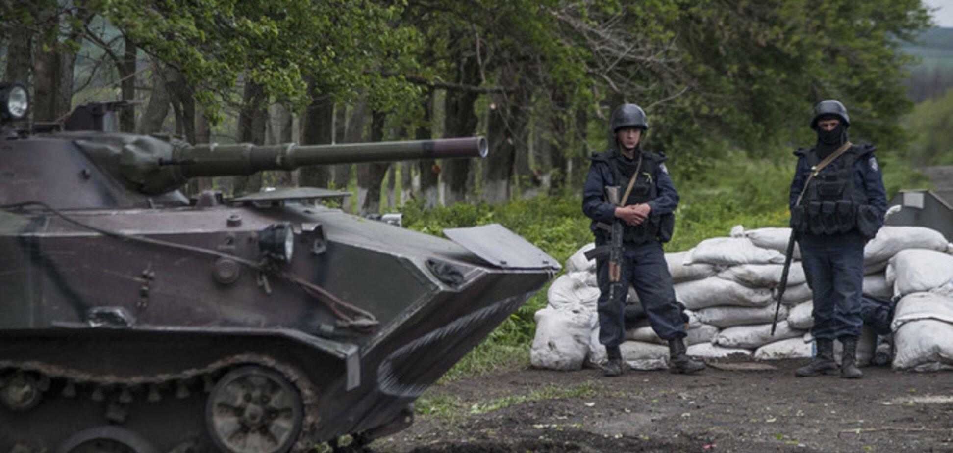 Десантники відбили атаку озброєних терористів біля Слов'янська - Міноборони