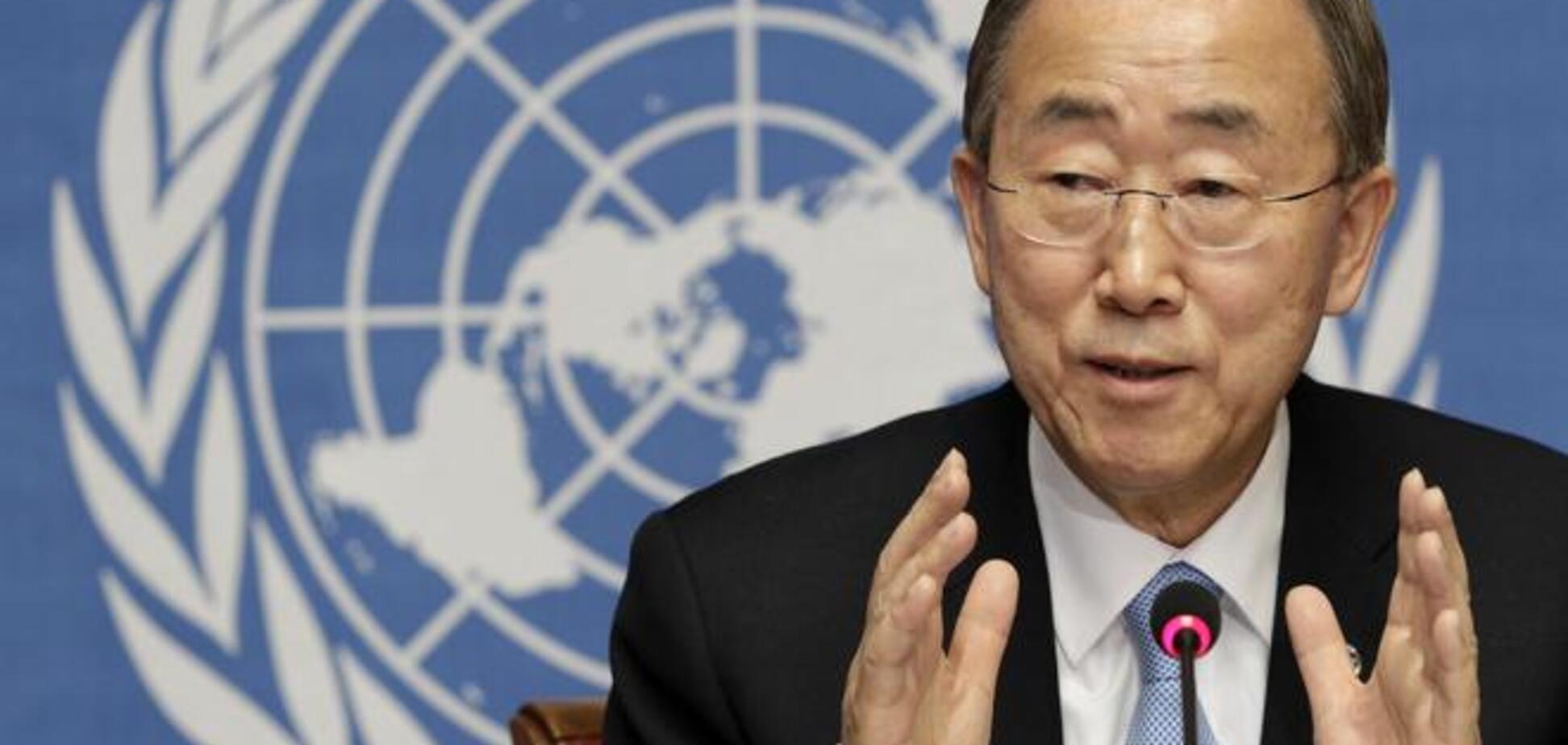 Генсек ООН особисто запропонував допомогти залагодити ситуацію в Україні