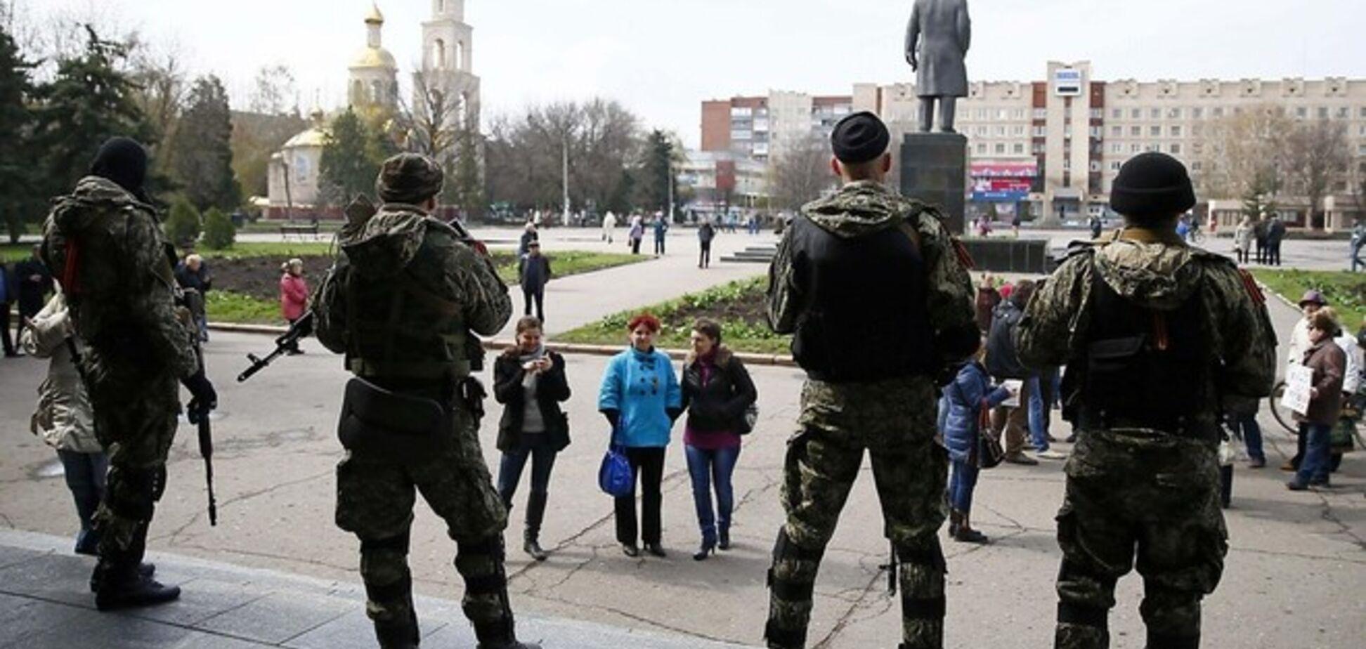 Російські ЗМІ вигадали нічну перестрілку біля Донецької міськради