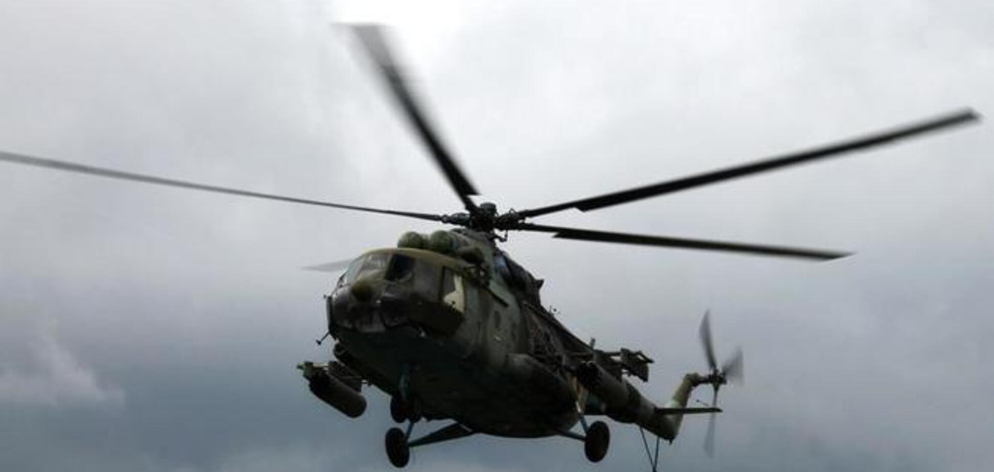 Под Славянском террористы сбили украинский вертолет