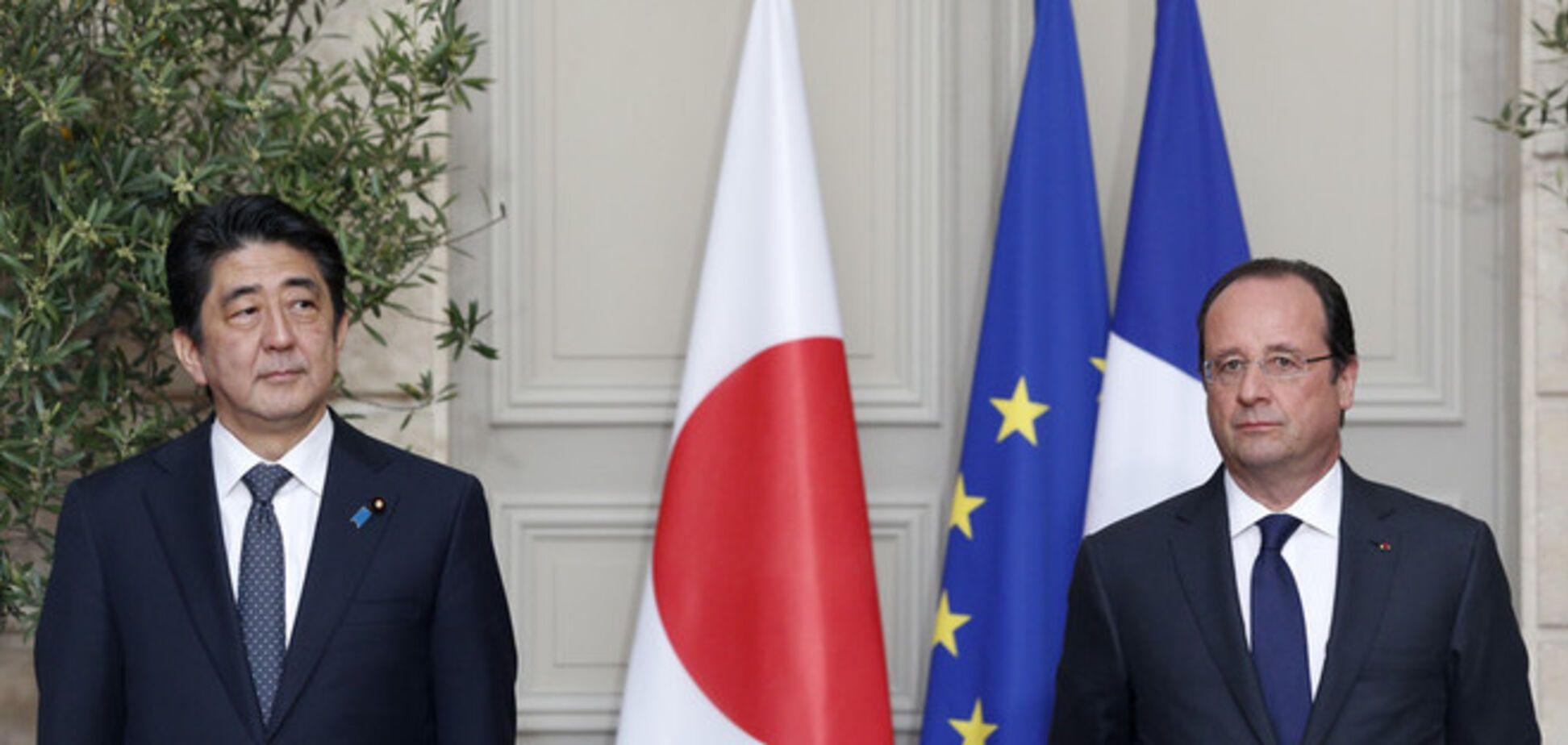 Франція і Японія закликали Росію до дипломатичного врегулювання конфлікту в Україні