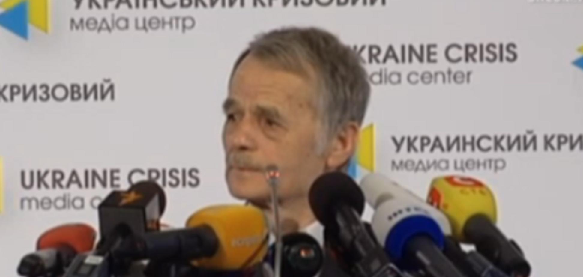 Джемілєв в ЄСПЛ оскаржить російську заборону на в'їзд до Криму