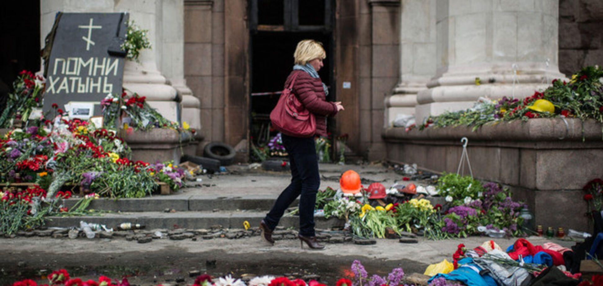 Замглавы МВД: к пожару в Одессе майдановцы и 'Правый сектор' не причастны