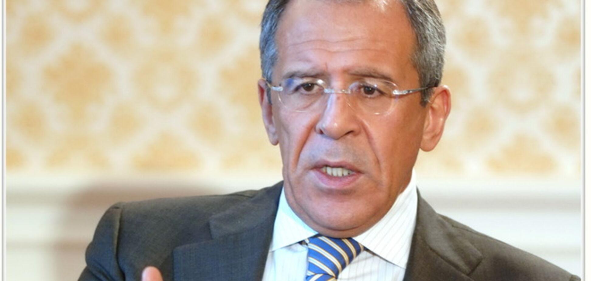 Лавров хоче, щоб українські військові покинули південний схід країни