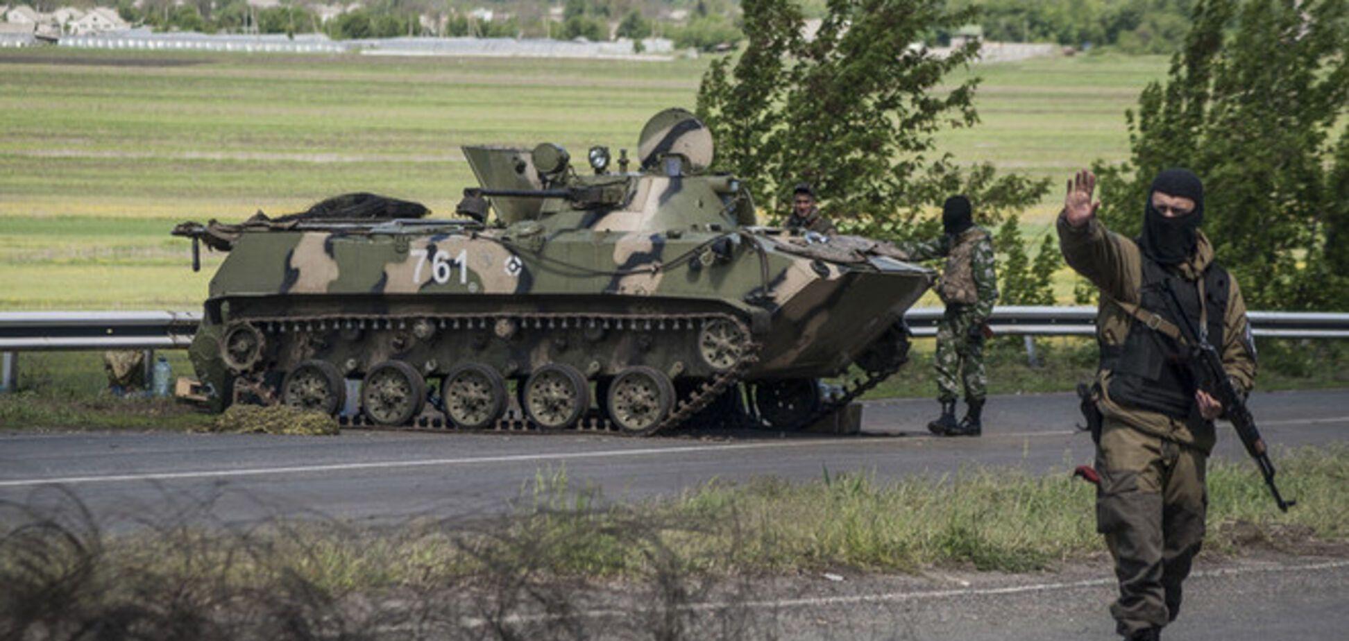 Из Славянска большая группа террористов готовится идти на прорыв