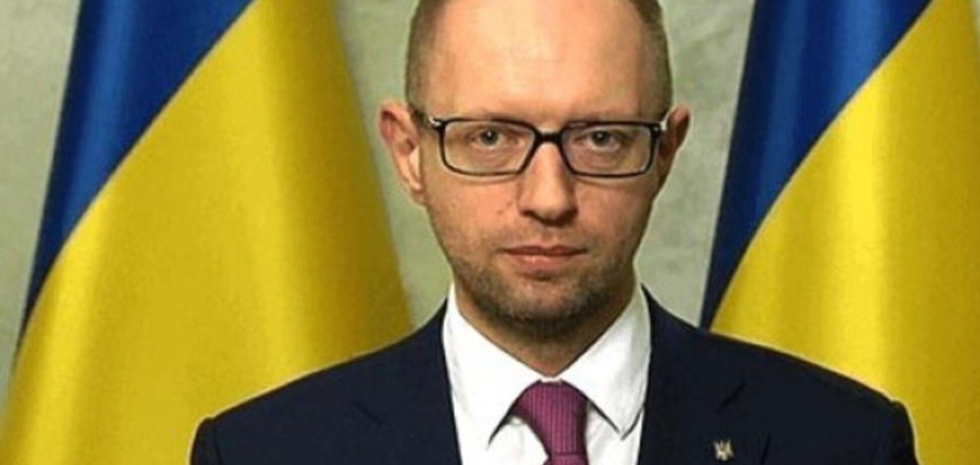 Яценюк пообіцяв амністію сепаратистам, не який здійснював тяжкі злочини