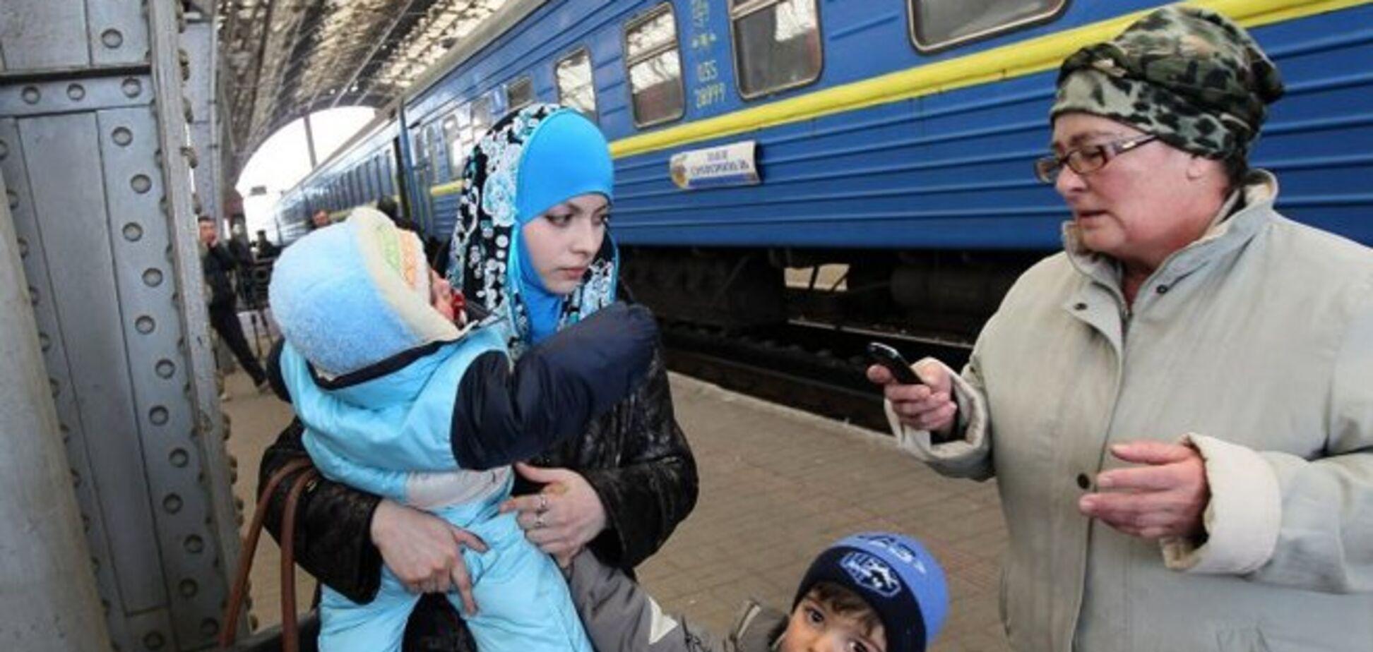На материкову Україну переїхали майже 8 тис. кримчан