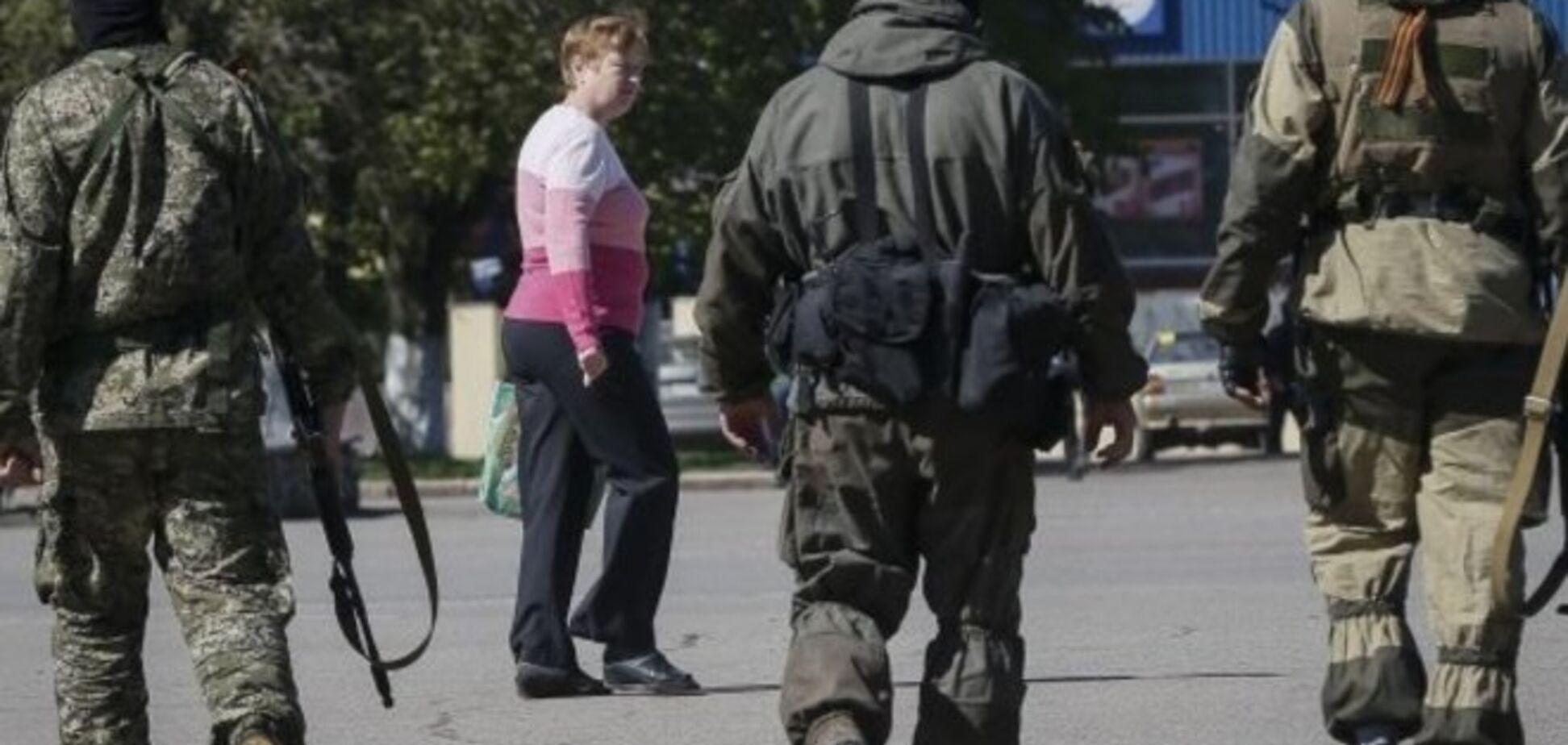 У Слов'янську місцеві наркомани та алкоголіки стали посібниками терористів - очевидці