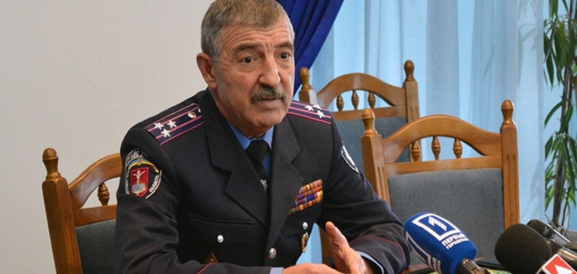 Экс-глава одесской милиции Фучеджи не задержан, а вызван на допрос