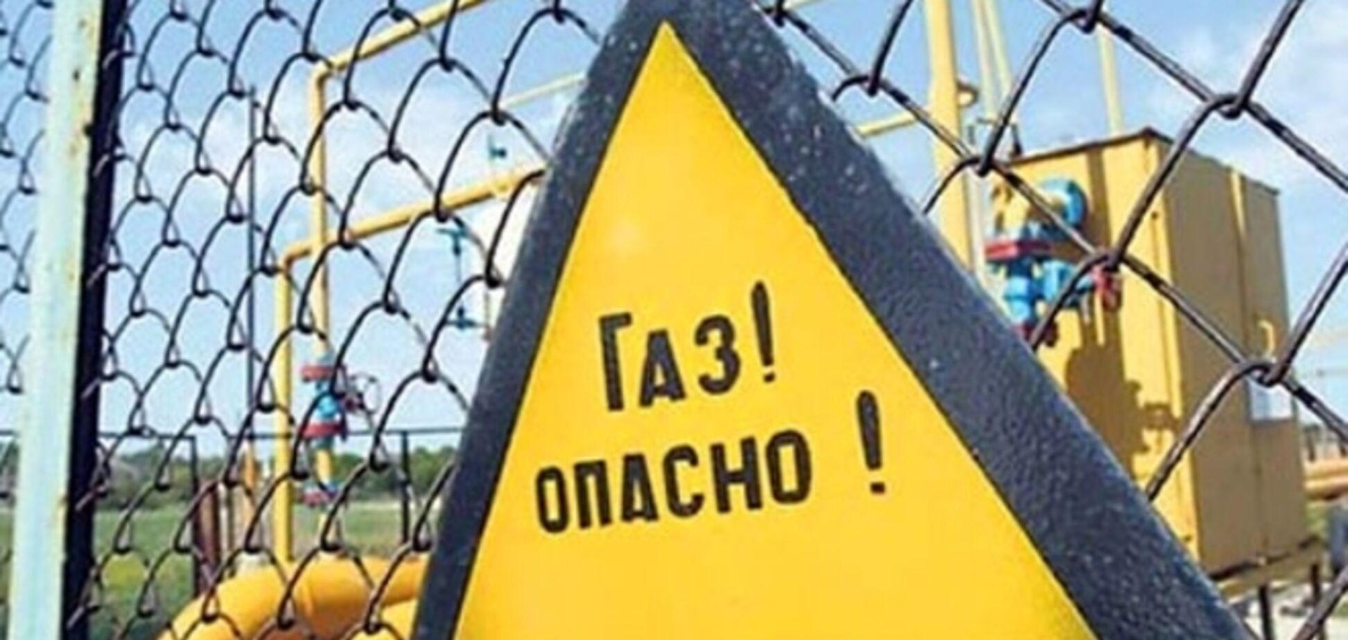Газовая атака на Украину