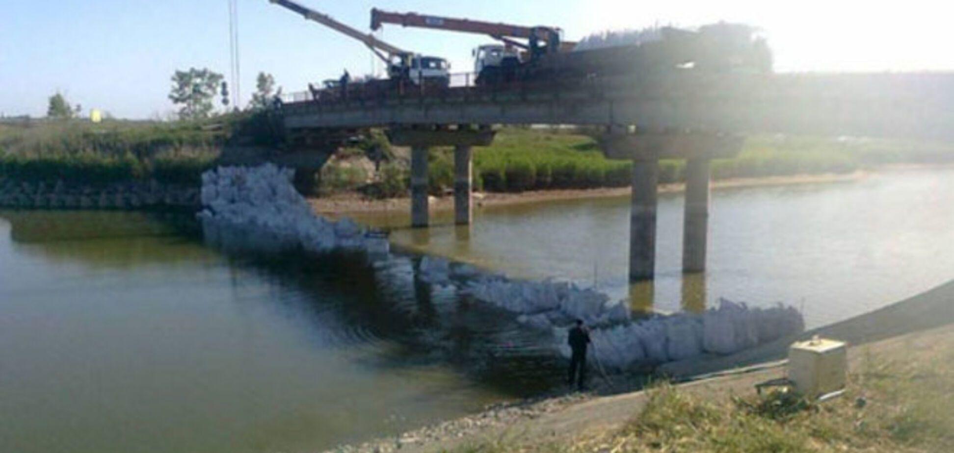 Російські ЗМІ збрехали про будівництво дамби для перекриття води Криму