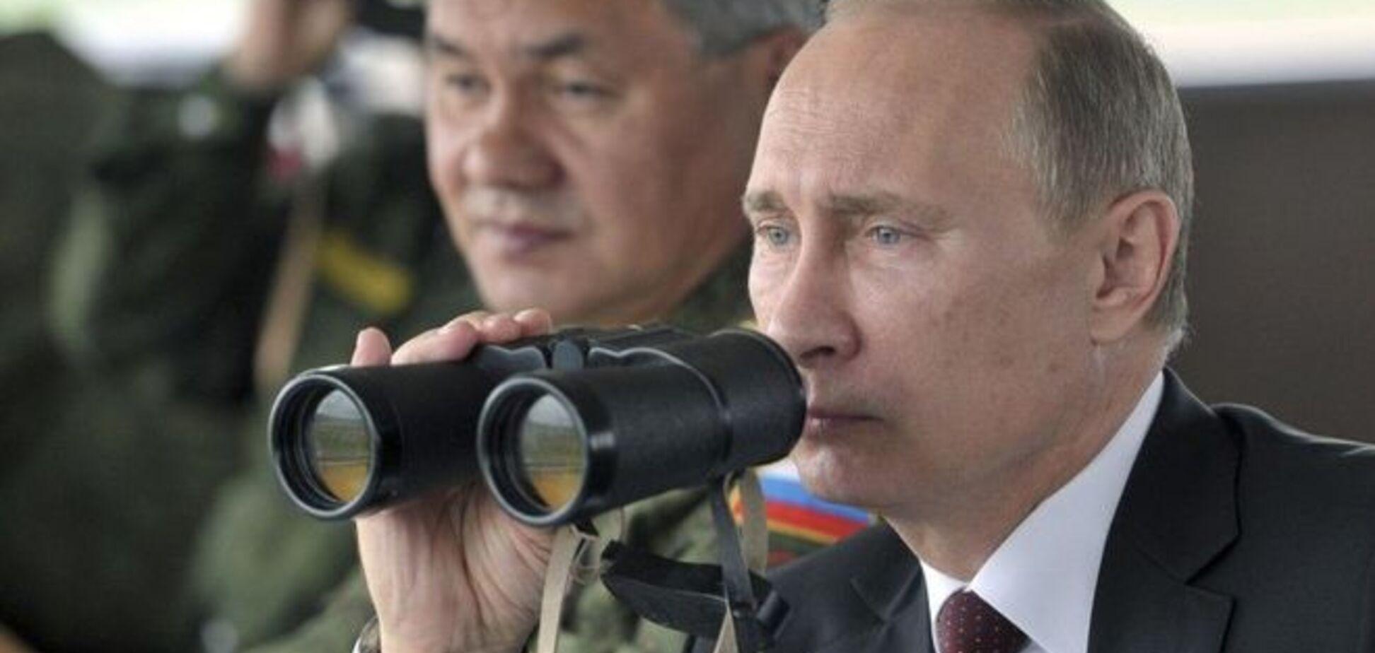 Путин провел боевые учения по нанесению ядерного удара