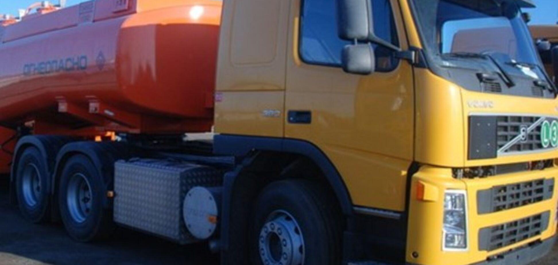 У Горлівці терористи захопили цистерну з дизельним паливом