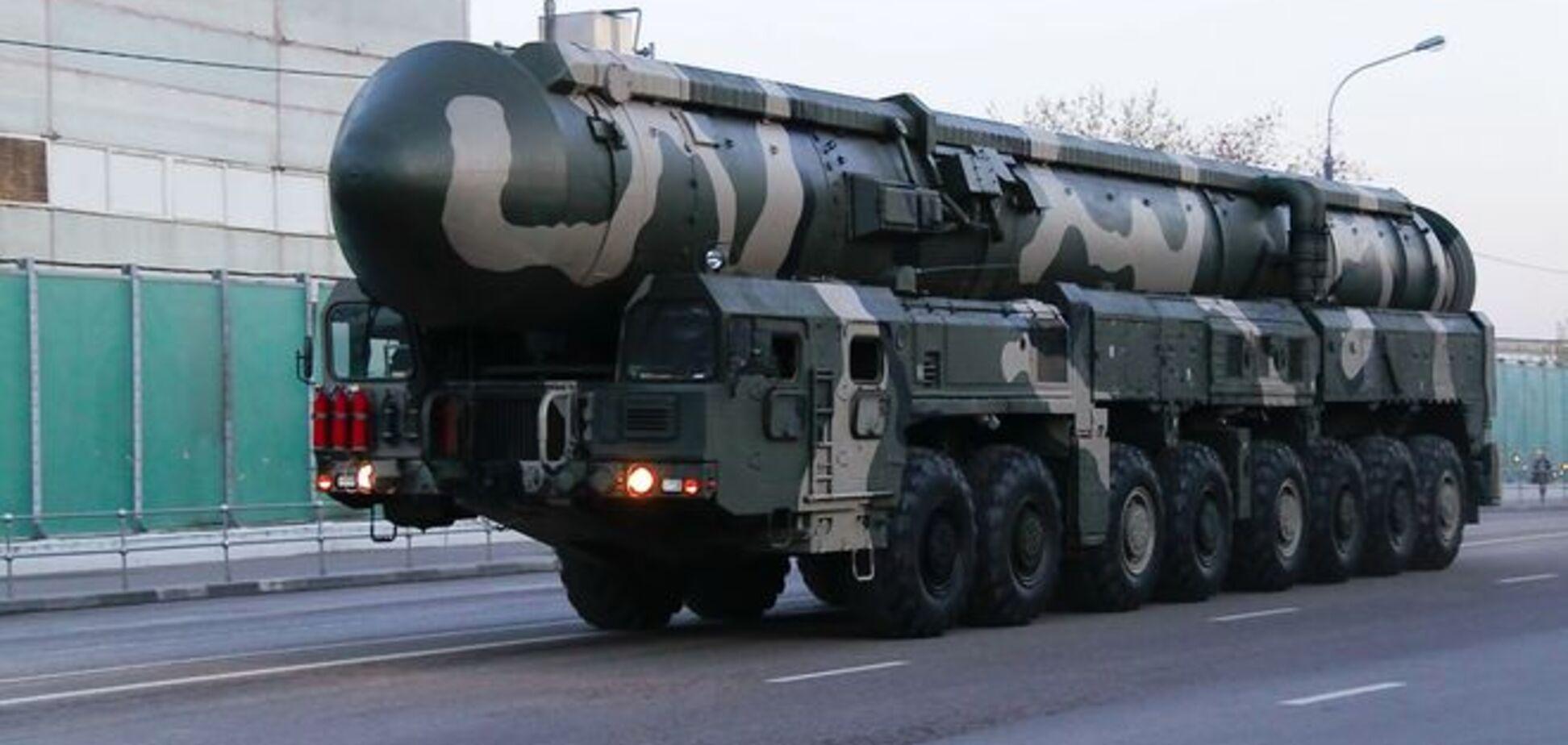 Росія почала лякати Україну ядерною зброєю