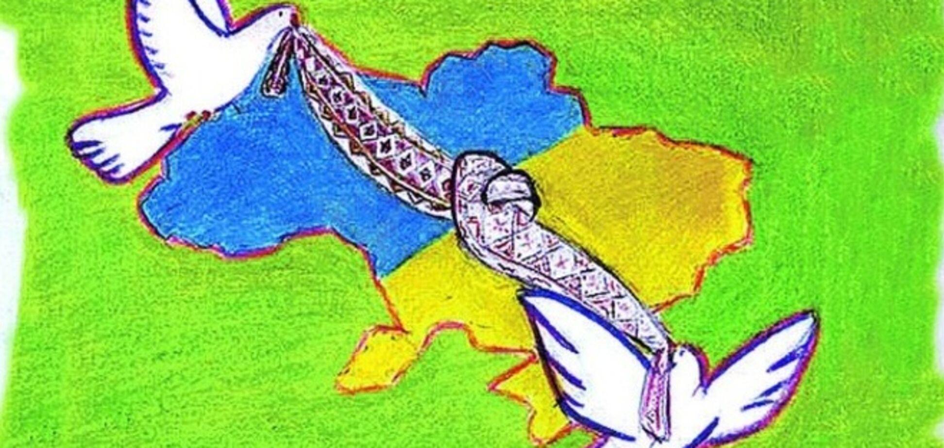 При въезде в Киев появится 'клумба единства'