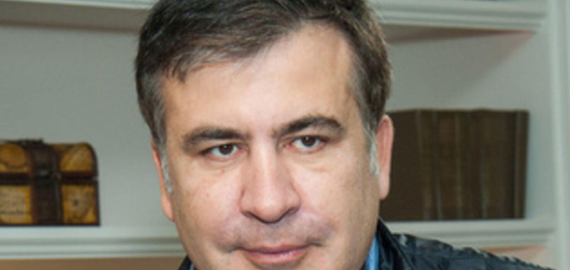 Саакашвілі назвав заклик Путіна відстрочити 'референдуми' на Донбасі грою в кішки-мишки